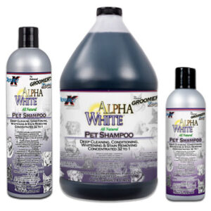 Groomer's Edge Alpha White shampoo