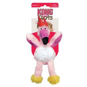Kong Wild Knots flamingo lelu, koko S