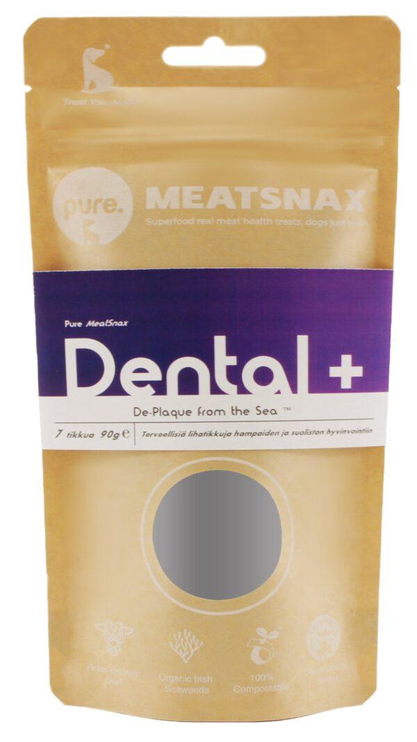 Pure Meatsnax Dental pihvitikku