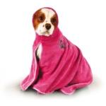 Show Tech koiran kylpytakki, pinkki, koko L