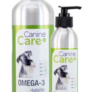 CanineCare Omega-3 -kalaöljy
