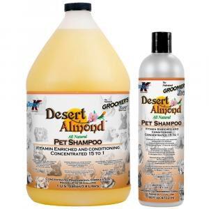 Groomer's Edge Desert Almond shampoo