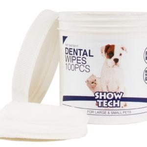 Show Tech Dental Wipes puhdistusliina hampaille